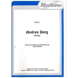 Römer, Eugen: Andrea Berg-Medley : für Blasorchester Partitur und Stimmen