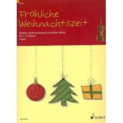 Fröhliche Weihnachtszeit : für 1-2 Violinen Spielpartitur
