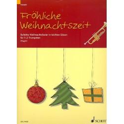 Fröhliche Weihnachtszeit : für 1-2 Trompeten Spielpartitur