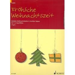 Fröhliche Weihnachtszeit : für 1-2 Flöten Spielpartitur