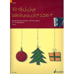 Fröhliche Weihnachtszeit : für 1-2 Akkordeons Spielpartitur