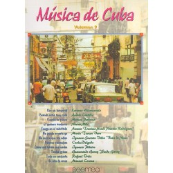 Música de Cuba vol.9: for piano (vocal/guitar)