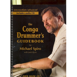 Spiro, Michael: The Conga Drummer's Guidebook (+CD)