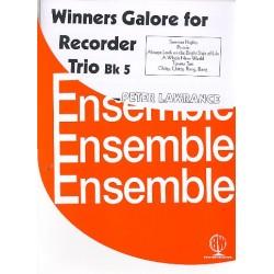 Winners Galore for Recorder Trio vol.5 : for 3 recorders (SSA(TB) score and parts
