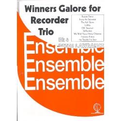 Winners Galore for Recorder Trio vol.5 : for 3 recorders (SSA(T)) score and parts