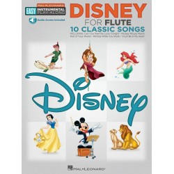 Disney (+download) : for easy flute