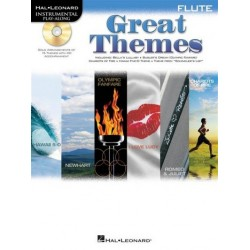 Great Themes (+CD) : for flute