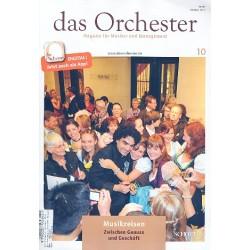 Das Orchester Oktober 2014 : Musikreisen - Zwischen Genuss und Geschäft