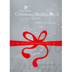 Christmas Medley vol.2 : for flute and 2 clarinets score and parts