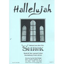 Cohen, Leonard: Hallelujah: für Big Band Direktion und Stimmen