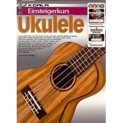 Gelling, Peter: Einsteigerkurs Ukulele (+2 DVD's +CD +DVD-ROM) : für Ukulele/Tabulatur