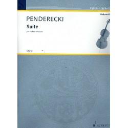 Penderecki, Krzysztof: Suite : für Violoncello