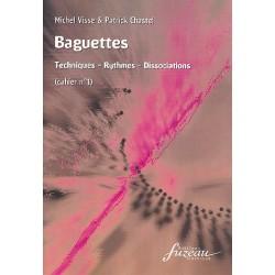 Visse, Michel: Baguettes vol.1 : pour caisse-claire