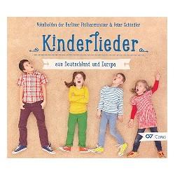 Kinderlieder aus Deutschland und Europa : CD