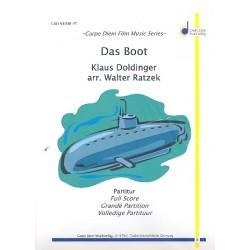 Doldinger, Klaus: Das Boot : für Blasorchester Partitur und Stimmen