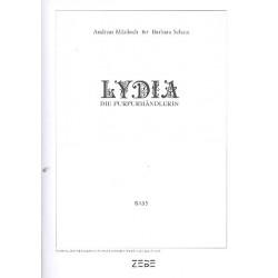 Mücksch, Andreas: Lydia die Purpurhändlerin : für Soli, gem Chor und Instrumente Bass