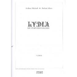 Mücksch, Andreas: Lydia die Purpurhändlerin : für Soli, gem Chor und Instrumente Flöte(n)