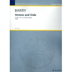 Barry, Gerald: Aeneas and Dido : for flute, clarinet and piano parts