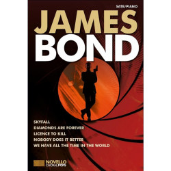 James Bond : for mixed chorus and piano score