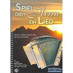 Spiel dem Herrn ein Lied (+CD) : für Steirische Handharmonika in Griffschrift