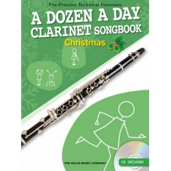 A Dozen A Day Songbook - Christmas (+CD) : for clarinet