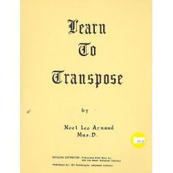 Arnaud, Noel Leo: Learn to transpose