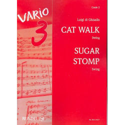Ghisallo, Luigi di: Cat Walk und Sugar Stomp : für Blasorchester Partitur und Stimmen