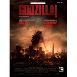 Desplat, Alexandre: Godzilla - main Title Theme : for piano solo