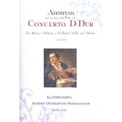 Anonymus: Konzert D-Dur für Horn und Orchester für Horn und Klavier