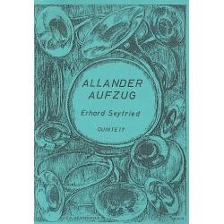 Seyfried, Erhard: Allander-Aufzug für 5 Hörner Partitur und Stimmen