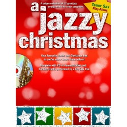 A jazzy Christmas (+CD) : for tenor saxophone