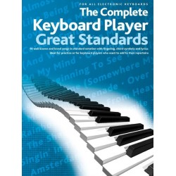 The complete Keyboard Player : Great Standards songbook melody line/lyrics/chord symbols