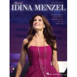 Best of Idina Menzel : songbook piano/vocal/guitar