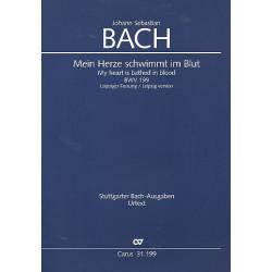 Bach, Johann Sebastian: Mein Herze schwimmt im Blut (Leipziger Fassung) : Kantate Nr.199 BWV199 Partitur (dt/en)
