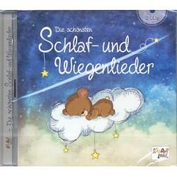 Die sch├Ânsten Schlaf- und Wiegenlieder : 2 CD's