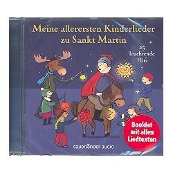 Meine allerersten Kinderlieder zu Sankt Martin : (inkl. Booklet mit Texten und Noten) CD