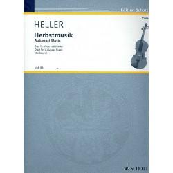 Heller, Barbara: Herbstmusik : für Viola und Klavier