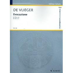 Vlieger, Henk de: Evocazione : für Flöte