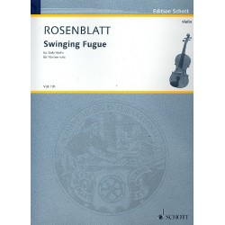 Rosenblatt, Alexander: Swinging Fugue : f├╝r Violine