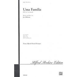 Althouse, Jay: Uma familia : for mixed chorus and piano score (en)