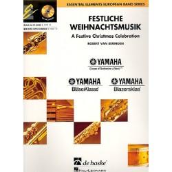 Festliche Weihnachtsmusik (+CD) : für Blasorchester Partitur und Stimmen