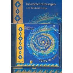 Hepp, Michael: Tänze im Kreis Band 4 (+CD) : Tanzbeschreibungen