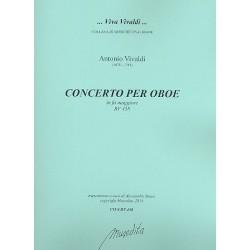 Vivaldi, Antonio: Konzert F-Dur RV458 für Oboe und Streicher Partitur und Stimmen (Bc nicht ausgesetzt) (Streicher 1-1-1-1)