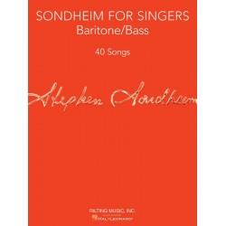 Sondheim, Stephen: Sondheim for Singers : for bass (baritone) and piano score