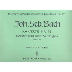 Bach, Johann Sebastian: Liebster Jesu mein Verlangen : Kantate Nr.32 BWV32 Orgel