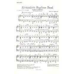 Berlin, Irving: Alexander's Ragtime Band : für Salonorchester Direktion und Stimmen