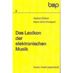 Eimert, Herbert: Das Lexikon der elektronischen Musik