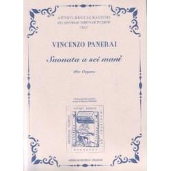 Panerai, Vincenzo: Suonata : per organi a 6 mani partitura