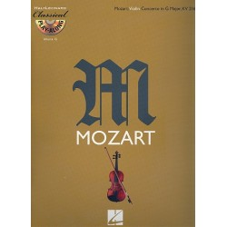 Mozart, Wolfgang Amadeus: Concerto in G Major KV216 for Violin and Orchestra (+CD) violin part
