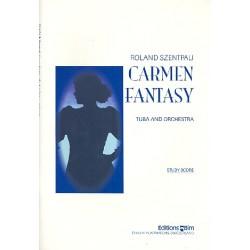 Szentpali, Roland: Carmen Fantasy : for tuba and orchestra study score